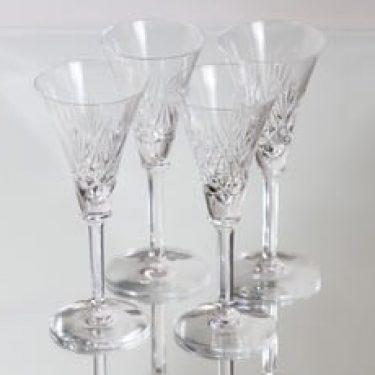 Riihimäen lasi Yrjö lasit, kirkas, 4 kpl, suunnittelija ,
