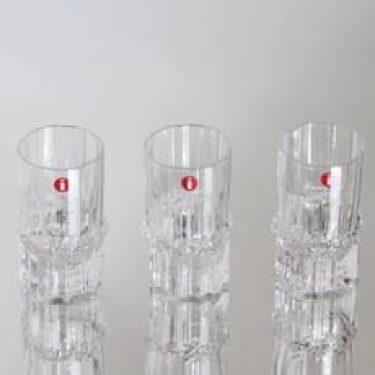 Iittala Pallas lasit, 4 cl, 3 kpl, suunnittelija Tapio Wirkkala, 4 cl, pieni