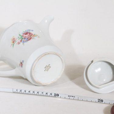 Arabia FQ kahvikaadin, kukkakuvio, suunnittelija , kukkakuvio, siirtokuva, 1 l kuva 3