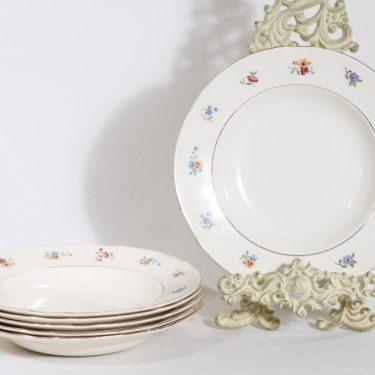 Arabia Sirkka lautaset, 6 kpl, suunnittelija , siirtokuva