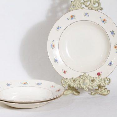 Arabia Sirkka lautaset, 3 kpl, suunnittelija , siirtokuva