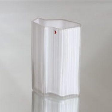 Iittala 2780 maljakko, valkoinen, suunnittelija Tapio Wirkkala, pieni