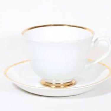 Arabia Rekvisita kahvikuppi, 2.87 l, suunnittelija , 2.87 l, suuri, kultaraita