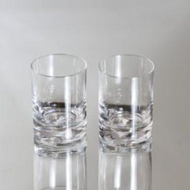 Iittala Jäänsärkijä lasit, 10 cl, 2 kpl, suunnittelija Tapio Wirkkala, 10 cl