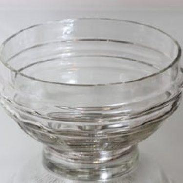 Riihimäen lasi Sulttaani malja, kirkas, suunnittelija Nanny Still, suuri
