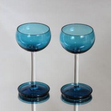 Riihimäen lasi Harlekiini viinilasit, 10 cl, 2 kpl, suunnittelija Nanny Still, 10 cl