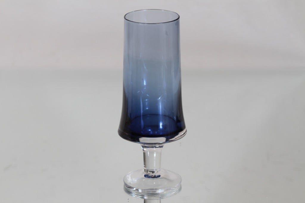 Iittala 2727 vase, blue, Tapio Wirkkala