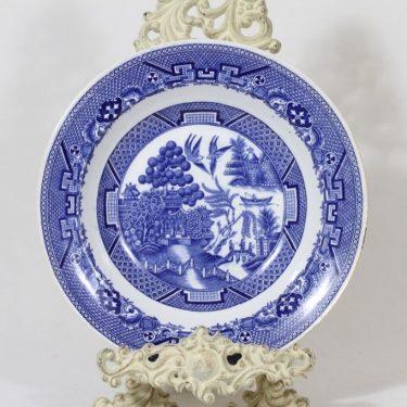 Arabia Willow lautanen, sininen, suunnittelija , kuparipainokoriste