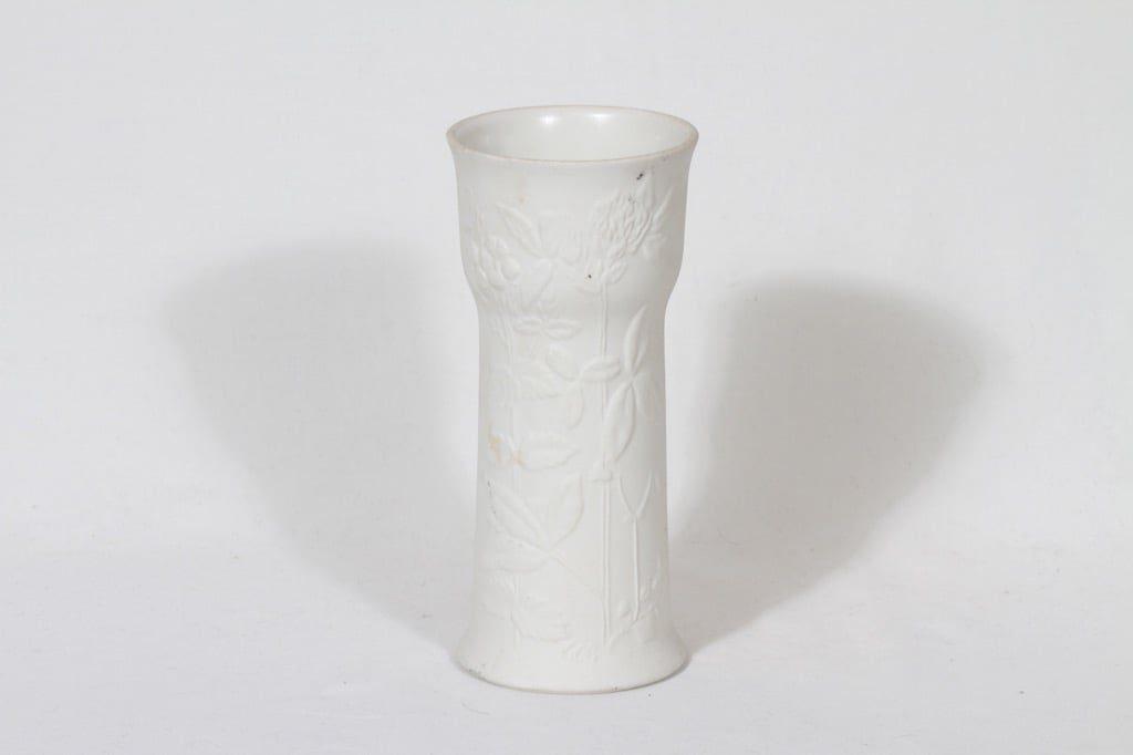 Arabia Suvi vase, white, Gunvor Olin-Grönqvist