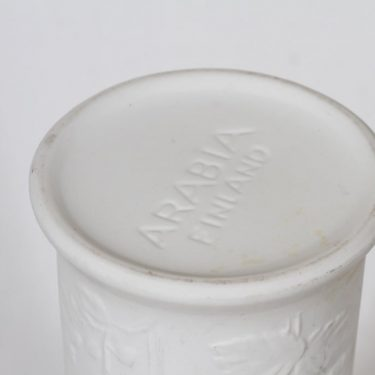 Arabia Suvi vase, white, Gunvor Olin-Grönqvist 3