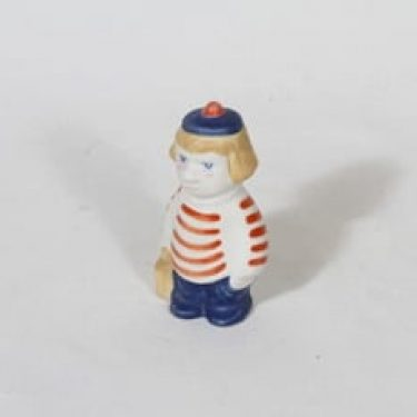 Arabia Tuutikki figuuri, käsinmaalattu, suunnittelija Tuulikki Pietilä, käsinmaalattu, pieni