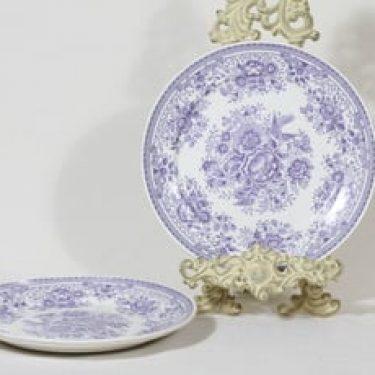 Arabia Fasaani lautaset, 2 kpl, suunnittelija , kuparipainokoriste