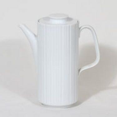 Rosenthal Variation kahvikaadin, valkoinen, suunnittelija Tapio Wirkkala,
