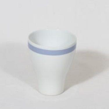 Arabia Sinivalko munakuppi, suunnittelija , raitakoriste