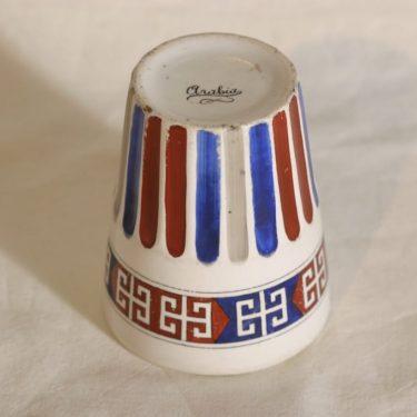 Arabia Fennia fennia-pikari, käsinmaalattu, suunnittelija , käsinmaalattu kuva 2