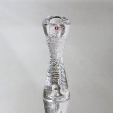 Iittala Arkipelago kynttilänjalka, kirkas, suunnittelija Timo Sarpaneva, pieni