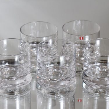 Iittala Helminauha lasit, 10 cl, 5 kpl, suunnittelija Timo Sarpaneva, 10 cl