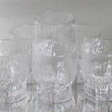 Iittala Aslak lasit, 20 cl, 6 kpl, suunnittelija Tapio Wirkkala, 20 cl