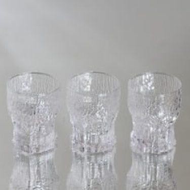 Iittala Aslak lasit, 5 cl, 3 kpl, suunnittelija Tapio Wirkkala, 5 cl, pieni