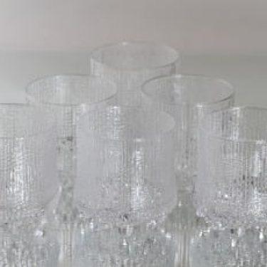 Iittala Ultima Thule lasit, 25 cl, 6 kpl, suunnittelija Tapio Wirkkala, 25 cl