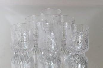 Iittala Ultima Thule lasit, 16 cl, 6 kpl, suunnittelija Tapio Wirkkala, 16 cl