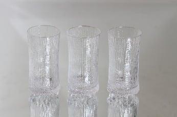 Iittala Ultima Thule lasit, 16 cl, 3 kpl, suunnittelija Tapio Wirkkala, 16 cl