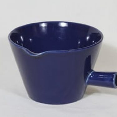 Arabia Kilta kulppi, sininen, suunnittelija Kaj Franck, suuri