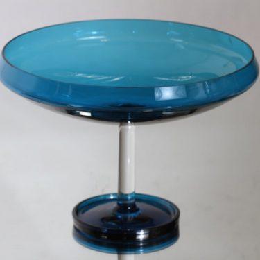 Riihimäen lasi Harlekiini malja, jalallinen, suunnittelija Nanny Still, jalallinen, suuri