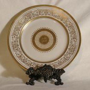 Arabia AB lautanen, suunnittelija , kultakoriste