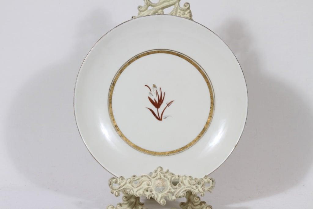 Arabia platter, hand-painted, designer Greta Lisa Jäderholm-Snellman, signed, art deco