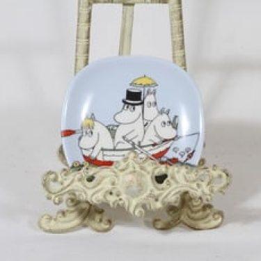 Arabia Muumi koristelautanen, suunnittelija Tove Slotte, pieni, serikuva