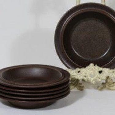 Arabia Ruska lautaset, syvä, 6 kpl, suunnittelija Ulla Procope, syvä