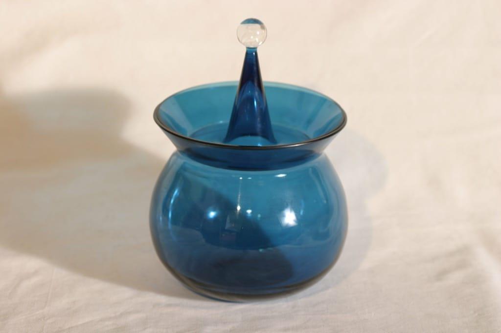 Riihimäen lasi Harlekiini makeiskulho, suunnittelija Nanny Still,