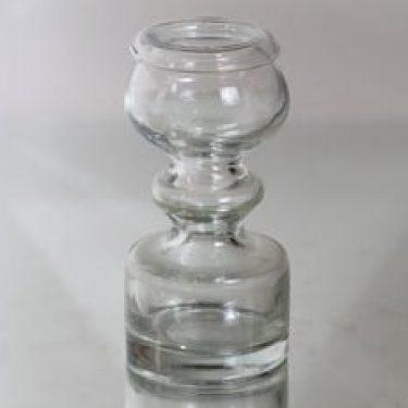 Riihimäen lasi Pompadour maljakko, kirkas, suunnittelija Nanny Still,