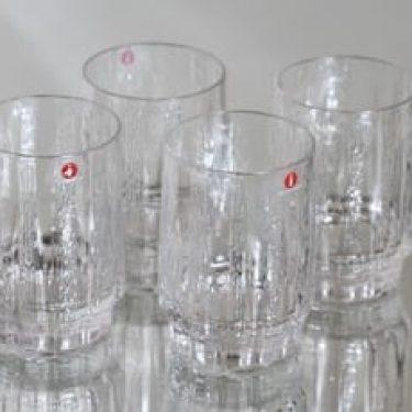 Iittala Vellamo lasit, 0.75 l, 4 kpl, suunnittelija Valto Kokko, 0.75 l