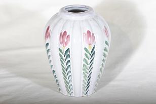 Arabia ARA maljakko, käsinmaalattu, suunnittelija , käsinmaalattu