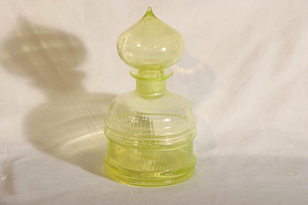 Riihimäen lasi Sulttaani karahvi, suunnittelija Nanny Still,