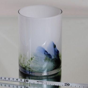 Riihimäen lasi Koralli maljakko, monivärinen, suunnittelija Tamara Aladin,  kuva 2