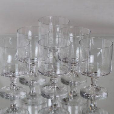 Iittala Karelia lasit, 18 cl, 6 kpl, suunnittelija Tapio Wirkkala, 18 cl