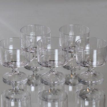 Iittala Karelia lasit, 7 cl, 5 kpl, suunnittelija Tapio Wirkkala, 7 cl, pieni