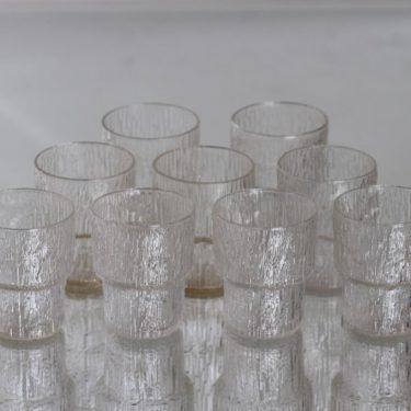 Iittala Paadar lasit, 7 cl, 9 kpl, suunnittelija Tapio Wirkkala, 7 cl