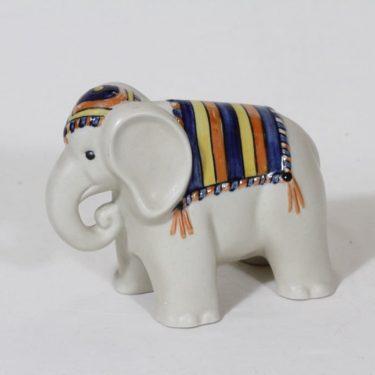 Arabia eläinfiguuri, käsinmaalattu, suunnittelija Inkeri Seppälä, käsinmaalattu, signeerattu
