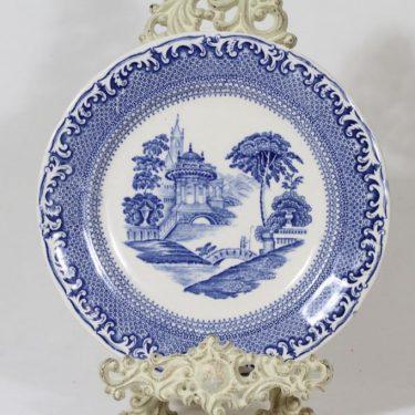 Arabia Spets lautanen, matala, suunnittelija , matala, kuparipainokoriste