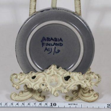 Arabia tuhka-astia, käsinmaalattu, suunnittelija Anja Jaatinen-Winqvist, käsinmaalattu kuva 2
