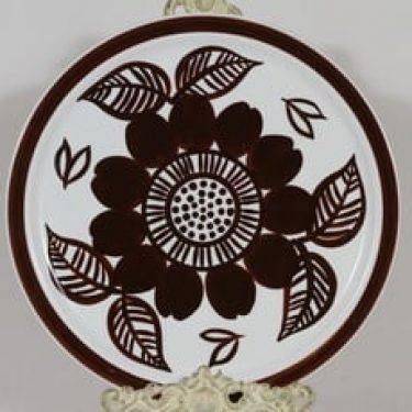 Arabia Köökki vati, käsinmaalattu, suunnittelija Gunvor Olin-Grönqvist, käsinmaalattu, signeerattu, retro