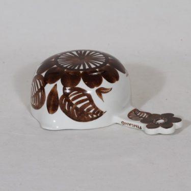 Arabia Köökki scoop, 25 cl, designer Gunvor Olin-Grönqvist, hand-painted, signed, retro