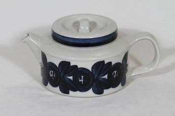 Arabia Anemone teekaadin, käsinmaalattu, suunnittelija Ulla Procope, käsinmaalattu, 1.35 l
