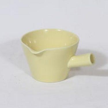 Arabia Kilta kastikekaadin, keltainen lasite, suunnittelija ,