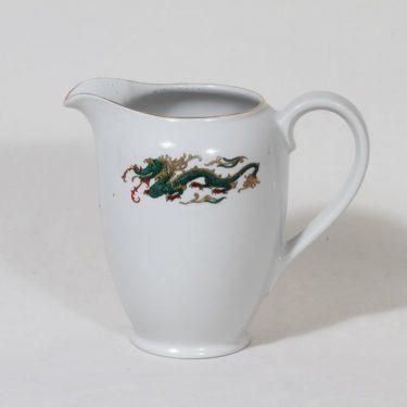 Arabia Lohikäärme kaadin, 1 l, suunnittelija Tyra Lungren, 1 l, serikuva