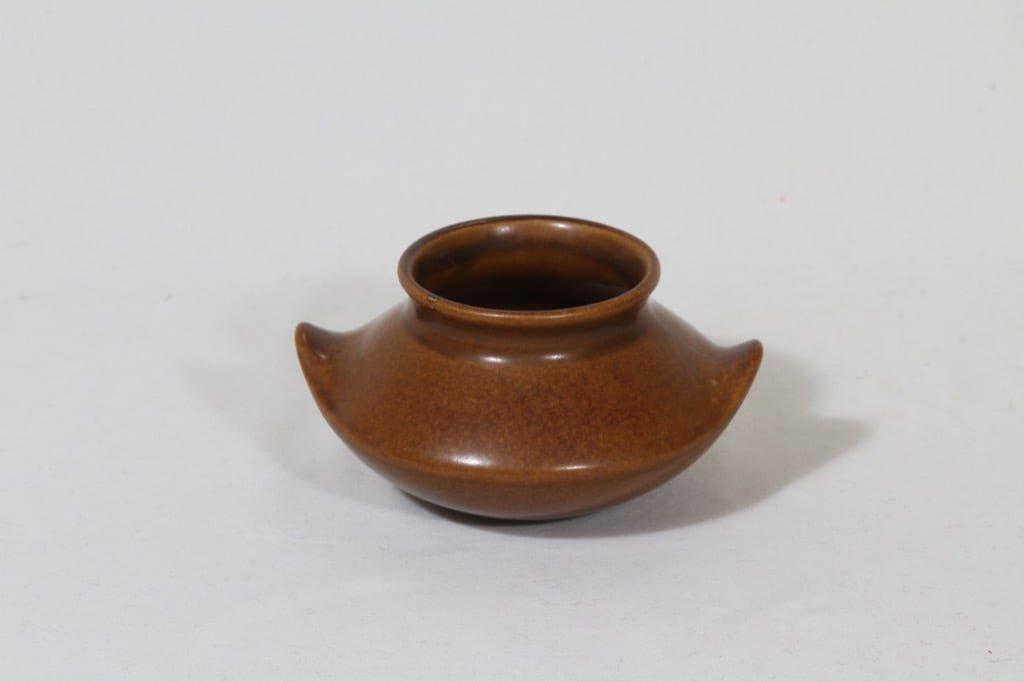 Arabia Ruska maljakko, ruskea, suunnittelija Ulla Procope, pieni